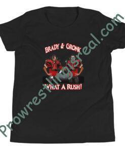 What A Rush: Brady & Gronk Youth Short Sleeve T-Shirt