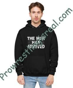 The Man Has ArrivedUnisex fleece hoodie